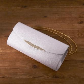 岩佐/西陣織 フォーマルバッグ クラッチ |結婚式・卒業式・入学式・パーティーパープル