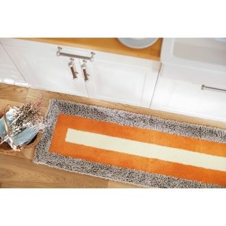 幅約60×丈約120cm 「乾度良好(R)」ランドスケープ キッチンマット