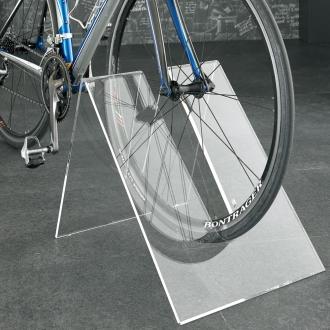 アクリル自転車スタンド