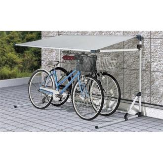 自転車の サイクル自転車 : サイクルガレージ 奥行105cm ...