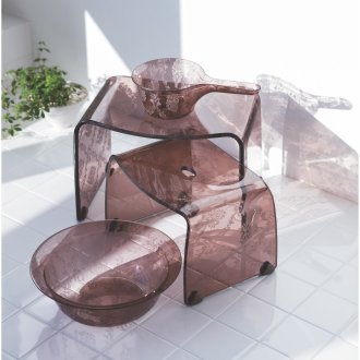 fascina ファシーナ アクリル製 湯手桶 単品