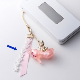 Romantic seat  Cell phone Phone charm