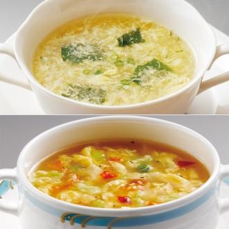 名古屋コーチンたまごスープセット (2種×10食 計20食)