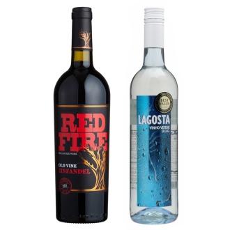 「お肉向け」イタリア赤ワイン&「魚介向け」ポルトガル白ワインセット