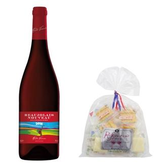 アンドレ・ボニエ ボジョレーヌーボー&チーズ6種アソート