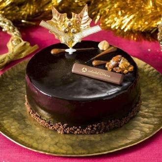 【クリスマスお届け】ホテルオークラ キャラメルナッツショコラ (5号サイズ) (クリスマスケーキ)