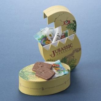 【通常お届け】ジュラシックショコラ エッグボックス 3箱セット
