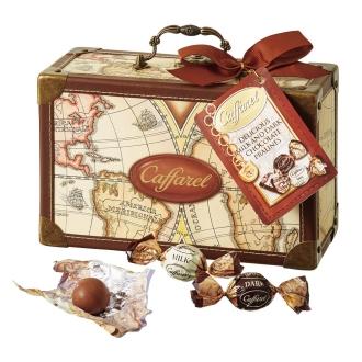 【通常お届け】Caffarel/カファレル カカオニブ入りチョコレートギフトバッグ (約18粒)