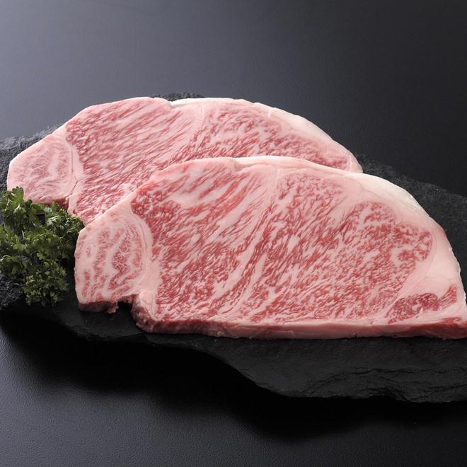 宮崎牛 ロースステーキ肉 (160g×2枚) 通販 - ディノス