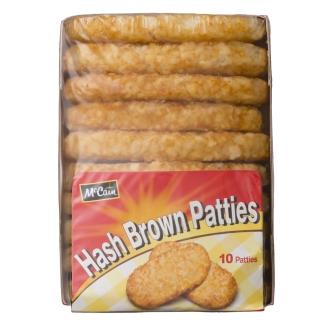 【業務用食材・食品】McCain/マッケイン オーバルハッシュブラウン (10枚×2パック)