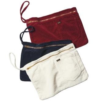 Lee / Lee corduroy clutch bag