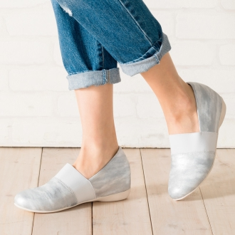 Nouvel Vogue relax series loafers wedge