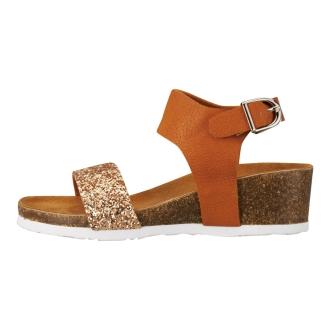 Noubel Voug Relax / Nouvelle Vogue relax lame belt sandals 6604