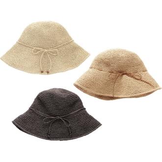 SASAWASHI/ささ和紙 手編み帽子