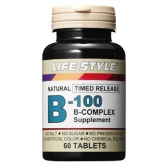 ディノス オンラインショップLIFE STYLE/ライフスタイル B-100 コンプレックス (葉酸400μg) 60粒