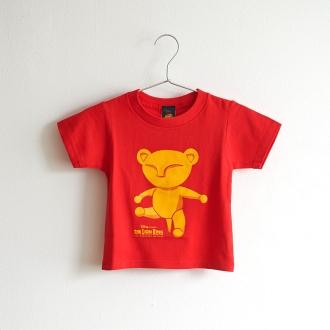 ライオンキング 子供Tシャツ ベビーシンバ レッド