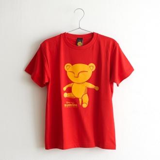 ライオンキング 大人Tシャツ ベビーシンバ レッド