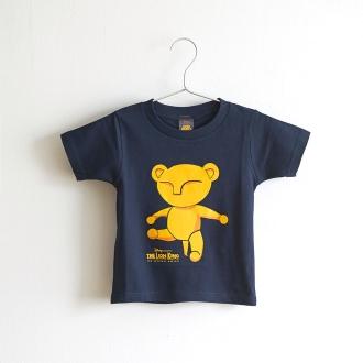 ライオンキング 子供Tシャツ ベビーシンバ ネイビー