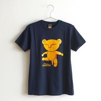 ライオンキング 大人Tシャツ ベビーシンバ ネイビー