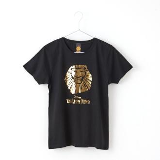 ライオンキング/半袖Tシャツ ゴールド(男女兼用) ディズニー ミュージカル