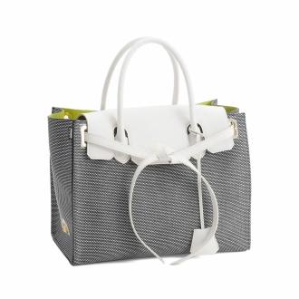 ADMJ / ER迪MJ的材料组合手提袋19AW01009