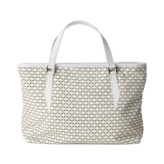 CASTELLARI/カステラーリ メッシュ風 デザインバッグ