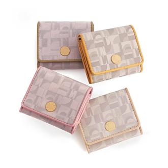 ELLE/エル トレフル 三つ折財布