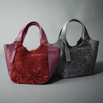 MARCO MASI拉廈華/馬可合併香格里拉廈華木桐Tsukai手提袋(意大利製造)
