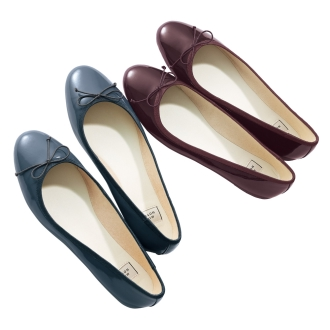 MIO NOTIS / Mionotisu enamel ballet shoes