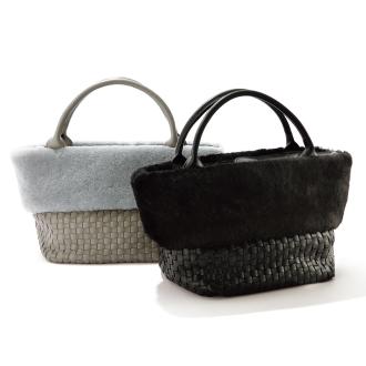 木桐×网眼手提袋