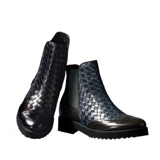 盧卡·格羅西/ Rukagurosshi網短靴(意大利製造)