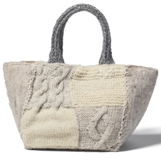 ENA KUAM / Enakuamu手工编织手提袋