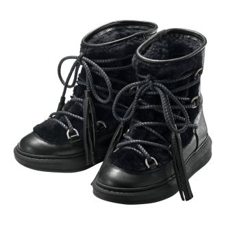 卡洛琳/卡羅琳流蘇設計的雪地靴