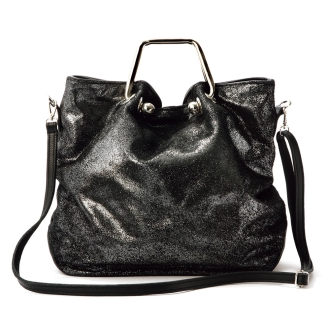 LAURA DI MAGGIO (R) / Laura Di Maggio metallic 2WAY bag (made in Italy)