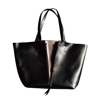 LAURA DI MAGGIO (R) / Laura Di Maggio 2WAY zipper tote bag (made in Italy)