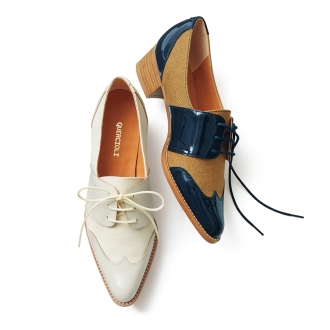 材料COMBI翼尖鞋