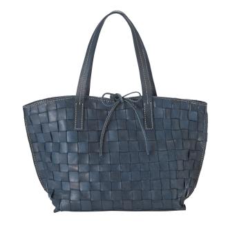Mesh leather bag