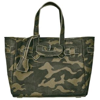 LA COUSETTE / Rakuzetto camouflage felt bag
