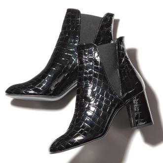 CORSO ROMA,9 / Korusoroma 9鳄鱼出版社Saidogoa靴(意大利制造)