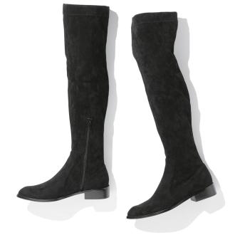 在膝盖高弹力靴Jetée酒店/黄麻膝盖