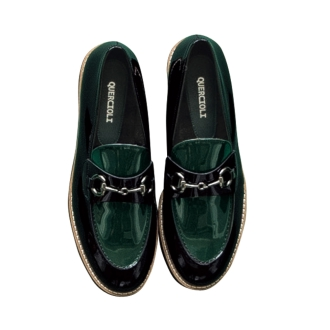 Color combination loafers