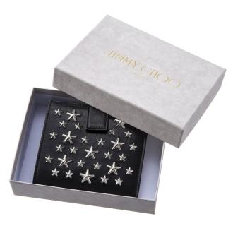 JIMMY CHOO / Jimmy Choo的折疊電子錢包FRIDA CST