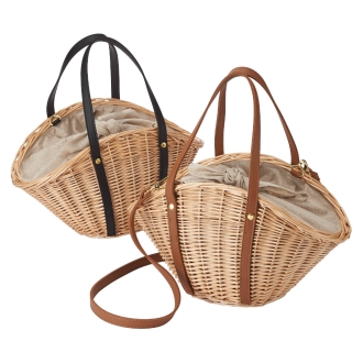 Cachellie / Kasherie 2WAY basket bag