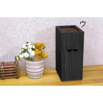 バスク すっきり見えるダストボックス/ゴミ箱 Mサイズ