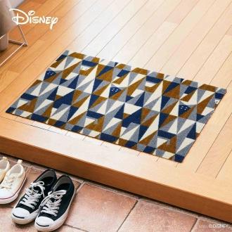 玄関マット Donald/ドナルド ジオメトリック 50×75cm[Disney/ディズニー]