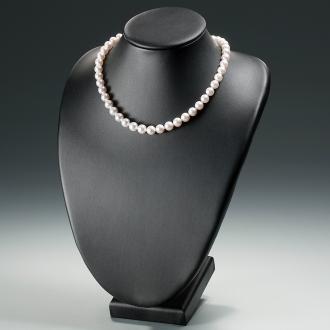 花珠あこや真珠8-8.5mmグラデーションネックレス&イヤリング(ピアス)セット